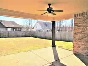 Covered Patio & Back Yard