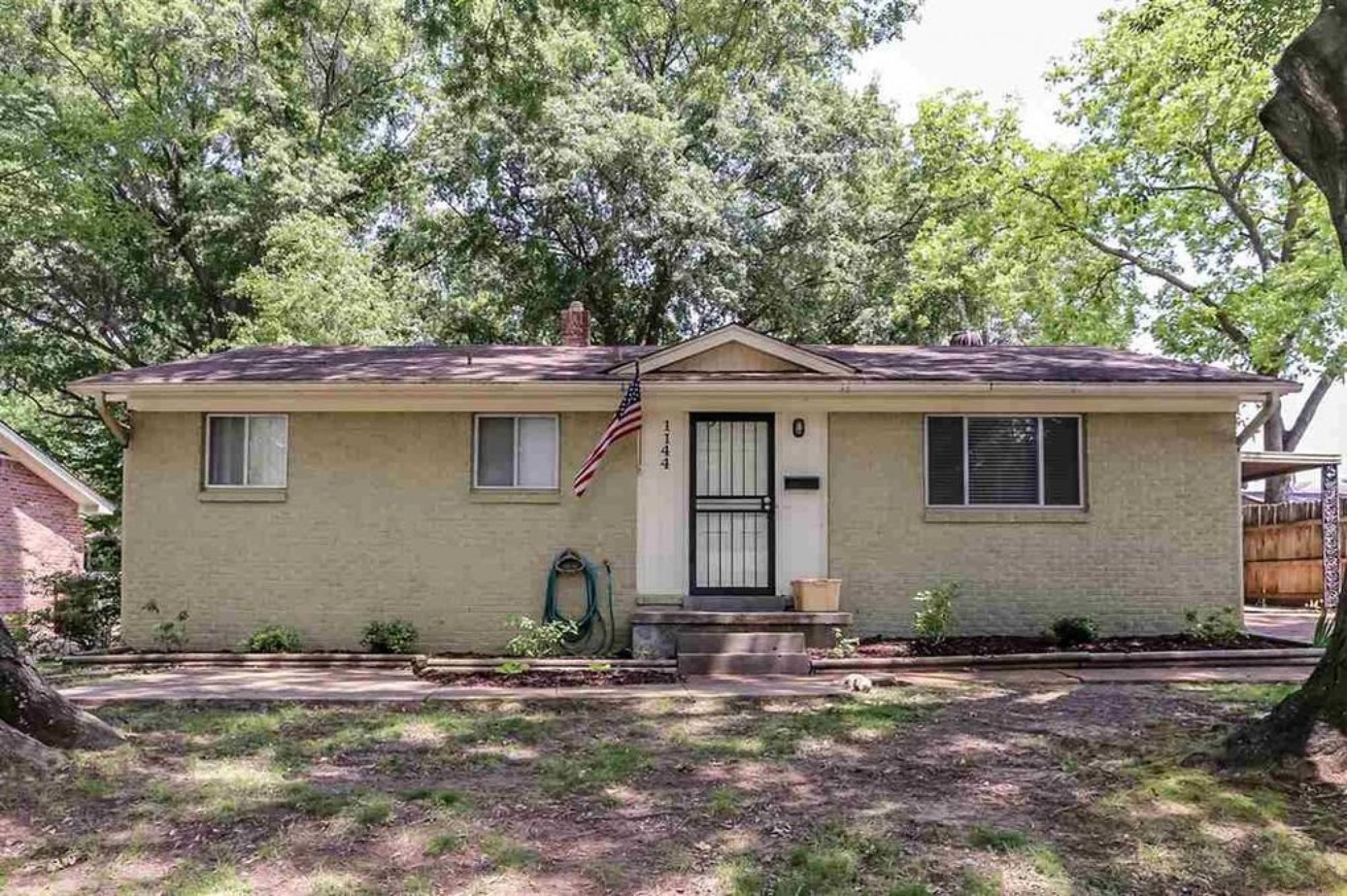 1144 Wellsville Rd. Memphis TN 38117