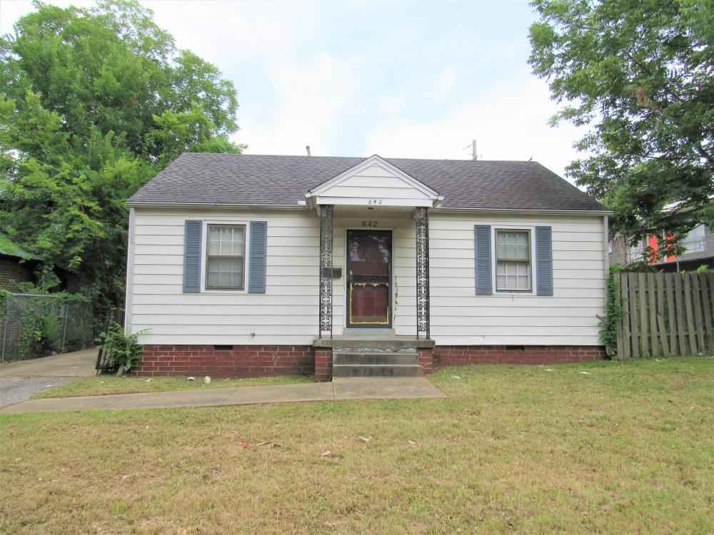 642 Minor St Memphis TN 38111