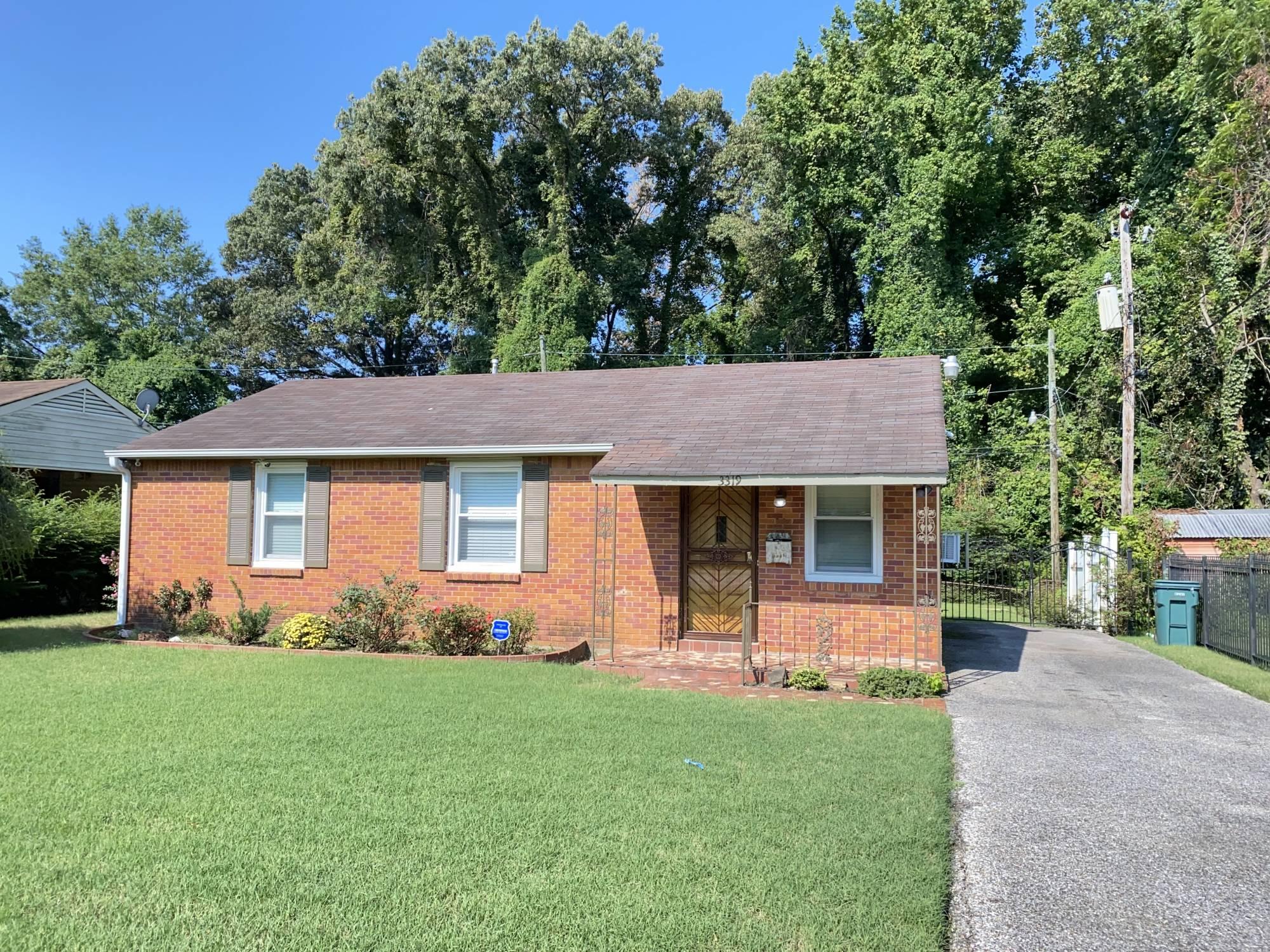 3319 Fostoria Rd. Memphis TN 38109